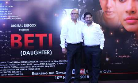Director Raja Ram Mukerji, Chaitanya Akolkar,Beti