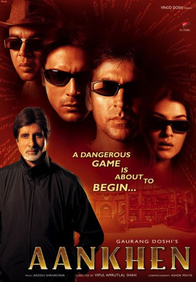 Aankhen (2002) Box Office Collection Day Wise India