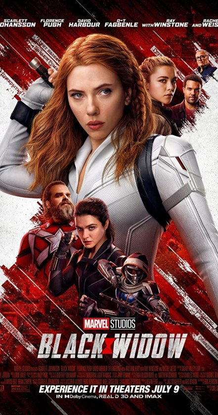 Black Widow (2021) Box Office Numbers US and Worldwide