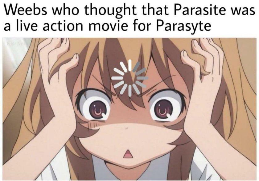 Parasite Hilarious Anime Memes
