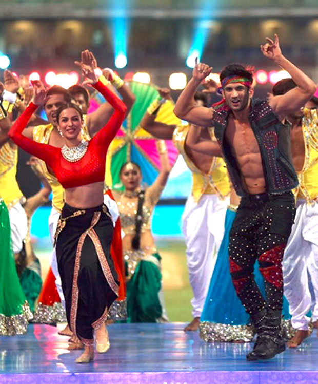 Here's how Sushant Singh Rajput and Malaika Arora Khan lit up the crowd at IPL 2017