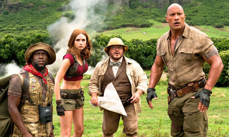 Jumanji Welcome to The Jungle (English) review images