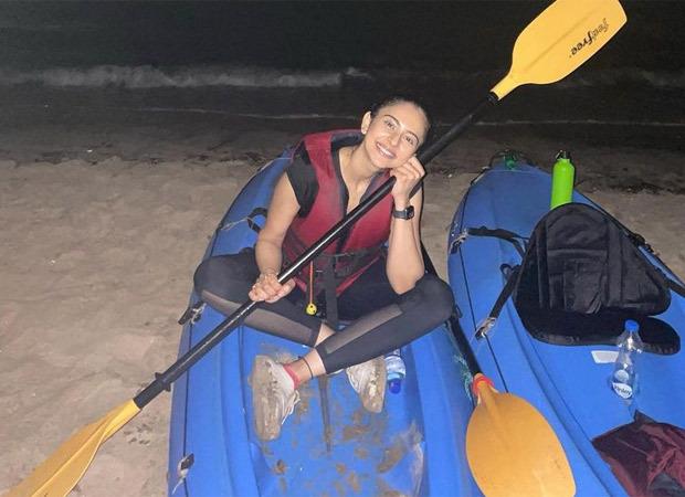 Rakul Preet Singh goes kayaking in the moonlight in Goa, shares pictures