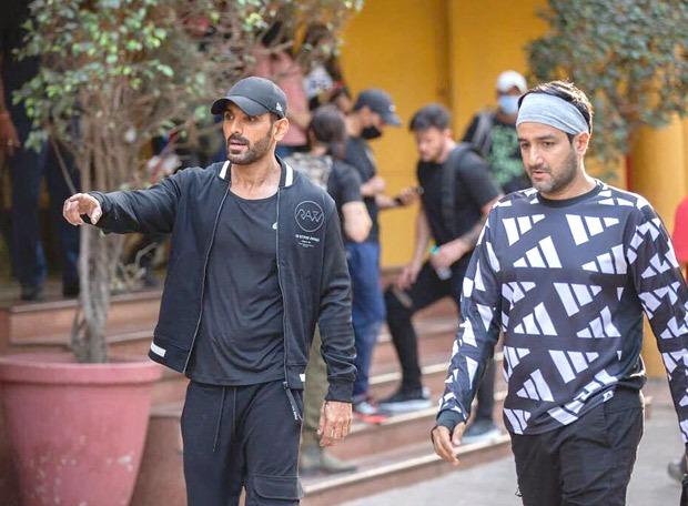 John Abraham begins filming for SRK - Deepika Padukone starrer Pathan