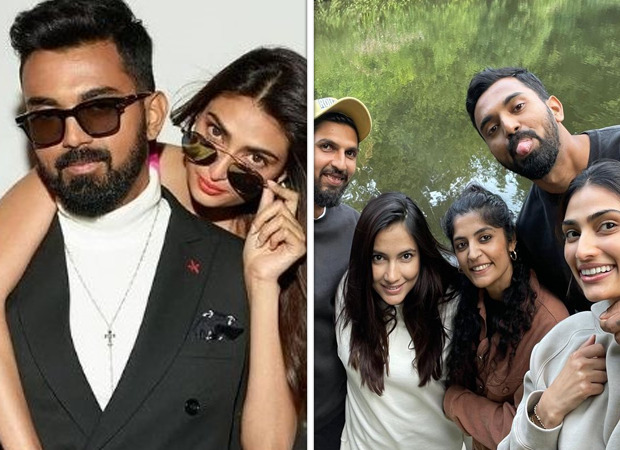 Athiya Shetty and KL Rahul's first picture from London surfaces online