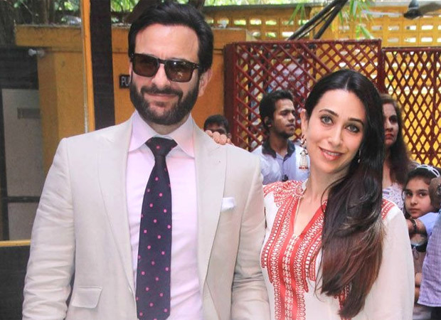Karisma Kapoor wishes Saif Ali Khan with a video containing their still from the movie Hum Saath Saath Hain on his 51st birthday
