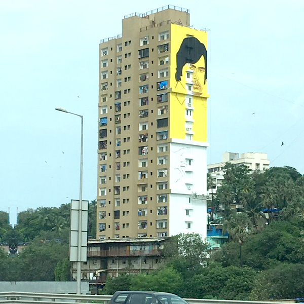 Image result for amitabh tallest mural