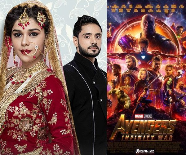 Ishq Subhan Allah actors Adnan Khan and Eisha Singh pay tribute to Avengers: Infinity War – view pic