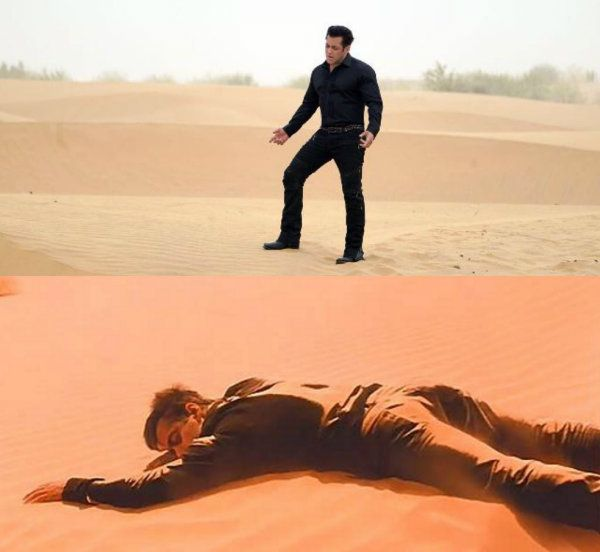 Salman Khan stranded in a desert in this still from Race 3 instantly reminds us of Hum Dil De Chuke Sanam
