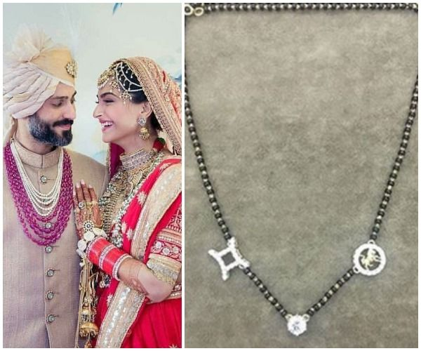If Sonam Kapoor's Rs 90 lakh wedding ring wasn't enough, she even got a customised mangalsutra made – read details