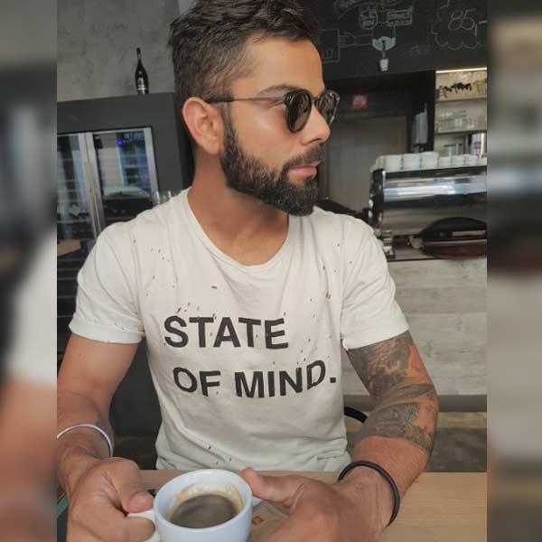 Virat Kohli Surely Loves His Morning Coffee Virat Kohli