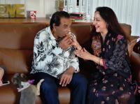 Hema Malini and Dharmendra