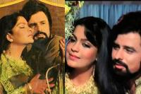 Sanjay Khan and Zeenat Aman