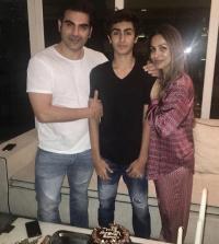 Arbaaz Khan, Malaika Arora and Arhaan Khan