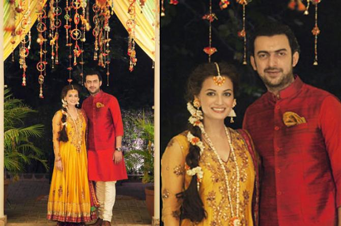 The Love Story Of Dia Mirza And Sahil Sangha That Turned
