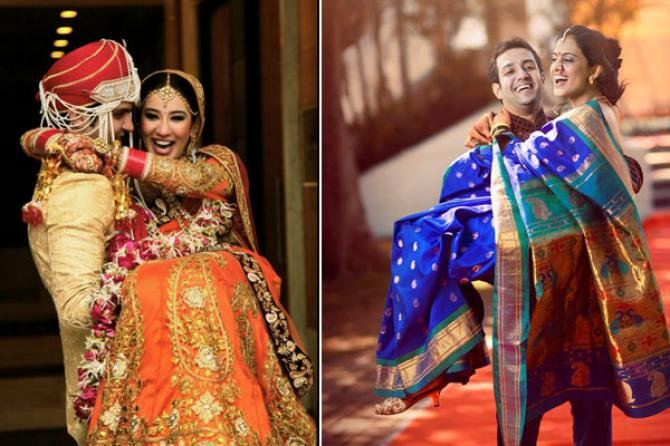 Cute Indian Married Couple Wallpaper Must Have Couple Poses For An Indian Wedding Album