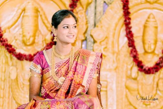 Indian bridal looks: Andhra bride