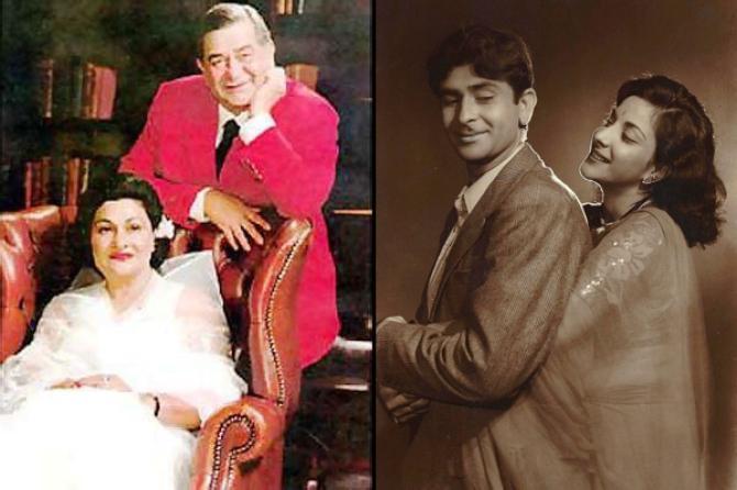 Raj Kapoor, Krishna And Nargis
