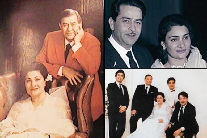 Raj Kapoor Krishna Kapoor