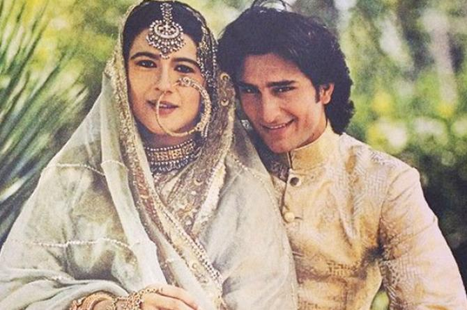 Saif Ali Khan Amrita SIngh wedding