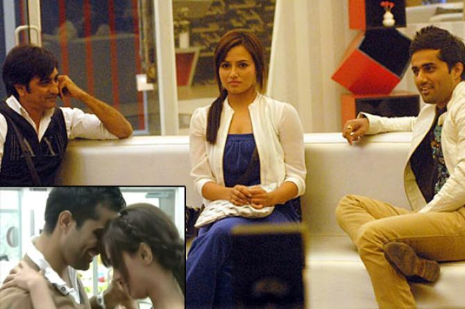 Sana Khan, Vishal Karwal and Rajeev Paul