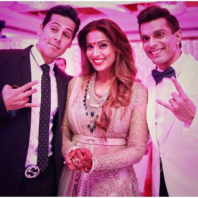 Dino Morea, Bipasha Basu and Karan Singh Grover