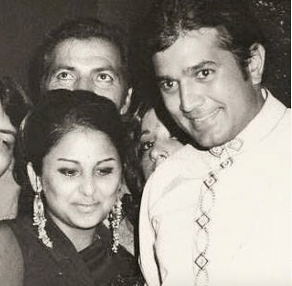 Rajesh Khanna And Anju Mahendroo