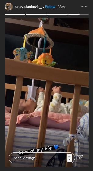 Natasa Stankovic Baby