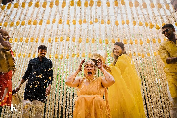 Jwala Gutta Flaunts Sparkling Engagement Ring, Her Haldi Pictures Prove  It's The Most Gleeful Ritual