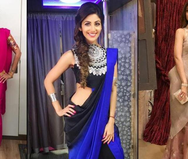 Saree Trends Of  That Can Be Taken From The Super Sexy Mama Shilpa Shetty Kundra