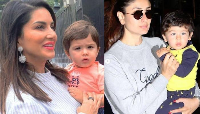 Sunny Leone'S Son Looks Like Taimur Ali Khan'S Twin, Fans Get Confused If She Was Holding