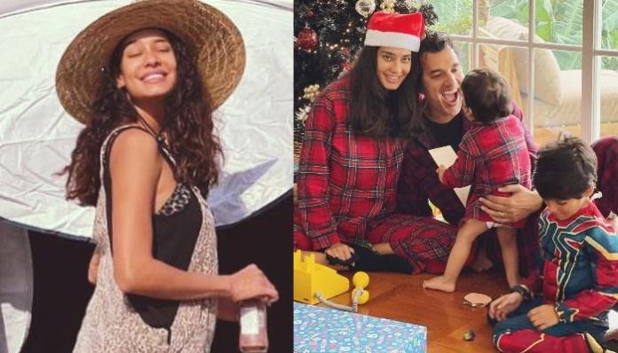 Third-Time Pregnant, Lisa Haydon Flaunts Her Baby Bump In A Bralette, Shares A Gorgeous Picture