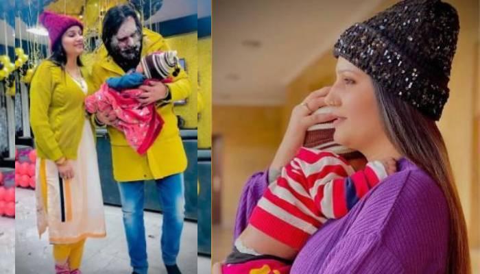 Sapna Choudhary Son Name | सपना चौधरी ने बताया अपने बेटे का नाम