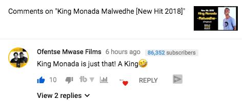 Malwedhe Challenge King Monada