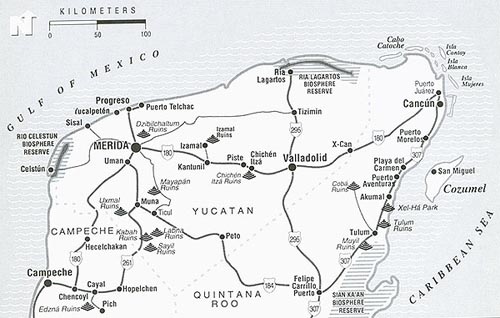 Adventures in the Yucatan by Subra Narayan