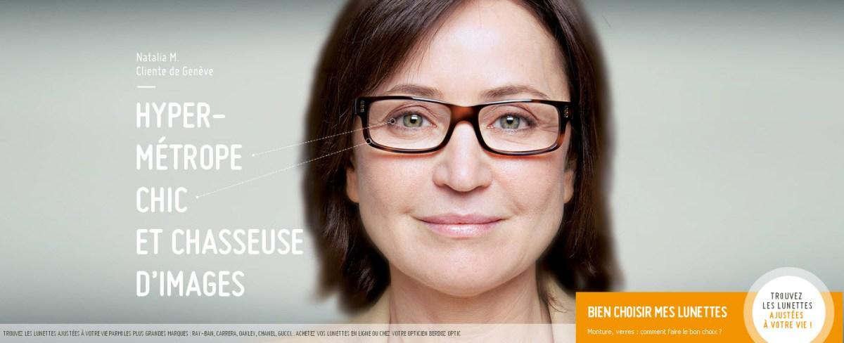 Découvrez le making of des publicités Berdoz Optic