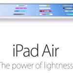 Apple continue à mettre l'iPad Air en avant