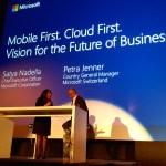 Microsoft présente sa vision Mobile First – Cloud First
