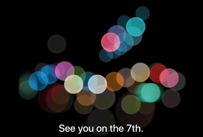 Apple a programmé sa Keynote pour le 7 septembre 2016