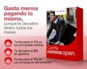 Cuenta nomina open