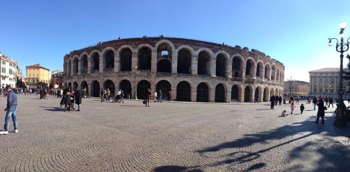 Arena di Verona - Cidade de Verona - Italia - Foto de Susan Buranelo