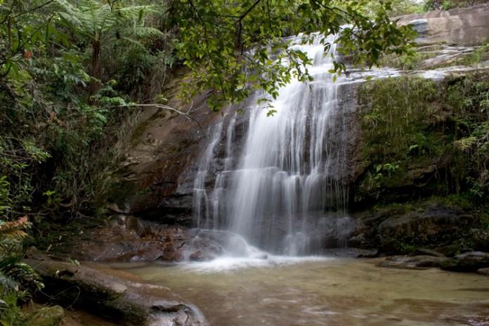 Cachoeira dos Namorados em Lavras Novas
