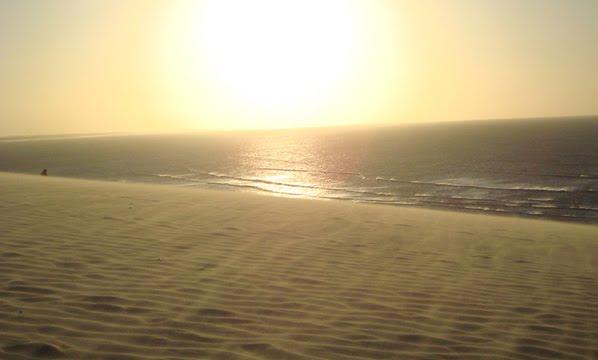 Duna do Pôr do Sol em Canoa Quebrada