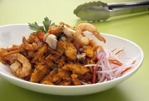 Gastronomia nas praias do Peru