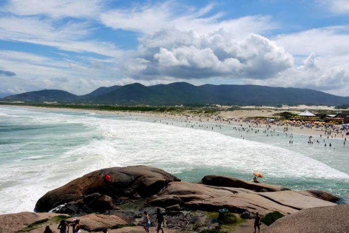 Joaquina uma das melhores praias de Florianópolis