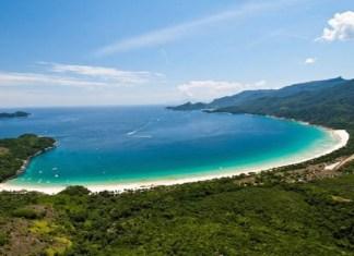 Praia de Lopes Mendes Ilha Grande uma das melhroes praias do Rio de Janeiro