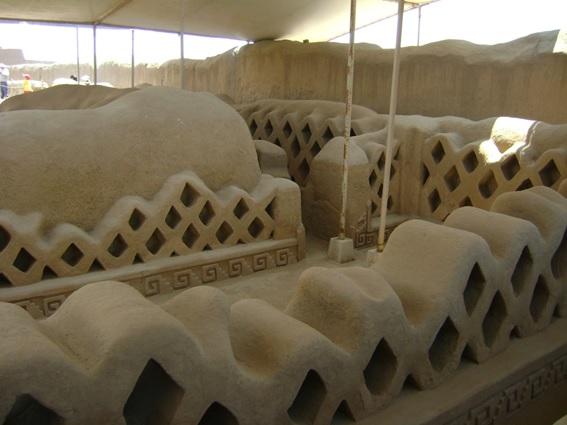 Sítio Arqueológico Chan Chan no Peru