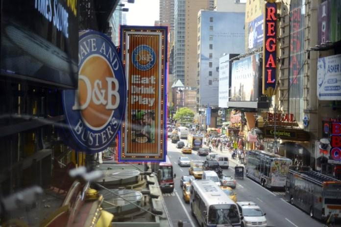 Times Square durante o dia