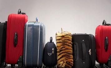 cuidados com a bagagem durante a viagem