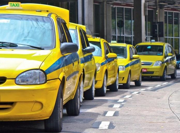 taxi para você fazer no Rio de Janeiro o que quiser